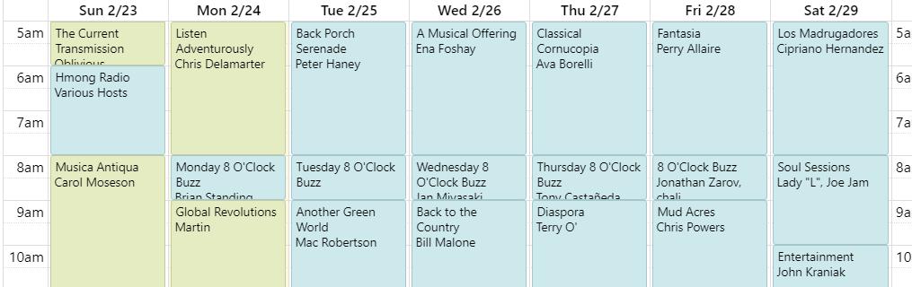 schedulesample